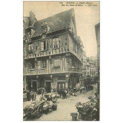 carte postale ancienne 76 ROUEN. Rue des Eaux-de-Robec