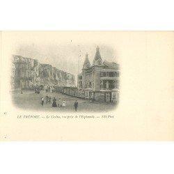 carte postale ancienne 76 LE TREPORT. Casino vu de l'Esplanade
