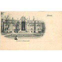 carte postale ancienne 76 ELBEUF. Cercle des Commerçants