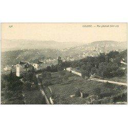 carte postale ancienne 06 GRASSE. Vue générale 138