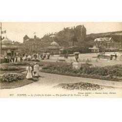 carte postale ancienne 76 DIEPPE. Casino Jardin