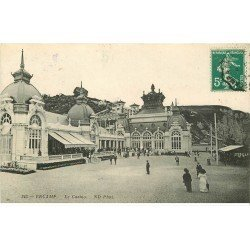 carte postale ancienne 76 FECAMP. Le Casino 1911