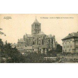 carte postale ancienne 76 FECAMP. Eglise Abside Abbaye