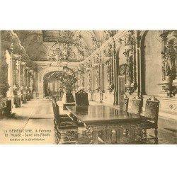 carte postale ancienne 76 FECAMP. Salle des Abbés au Musée