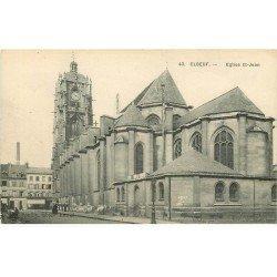 carte postale ancienne 76 ELBEUF. Eglise Saint-Jean