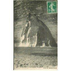 carte postale ancienne 76 ETRETAT. Fontaine aux Mousses 1918