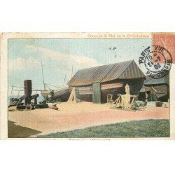 carte postale ancienne 76 ETRETAT. Les Caloges 1906