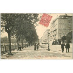 carte postale ancienne 06 NICE. Avenue Félix Faure 1904 n°38