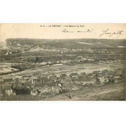 carte postale ancienne 76 LE TREPORT. Bassins du Port