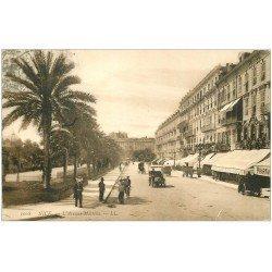 carte postale ancienne 06 NICE. Avenue Masséna 1908