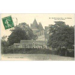 carte postale ancienne 44 BLAIN. Château 1913