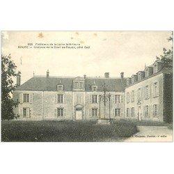 carte postale ancienne 44 BOUEE. Château de la Cour. Mini blanc et morsure