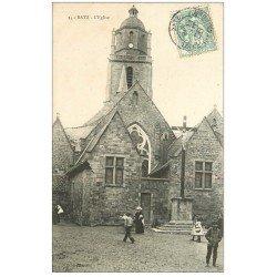 carte postale ancienne 44 BOURG-DE-BATZ. L'Eglise 1906