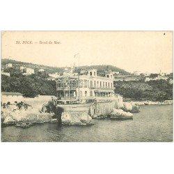 carte postale ancienne 06 NICE. Bord de Mer Restaurant de la Réserve