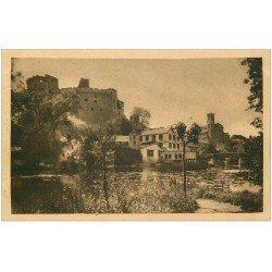 carte postale ancienne 44 CLISSON. Château et Eglise Notre-Dame 173