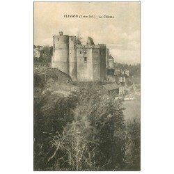 carte postale ancienne 44 CLISSON. Le Château