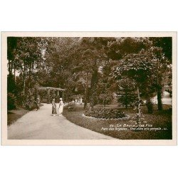 carte postale ancienne 44 LA BAULE. Parc des Dryades. Carte Photo