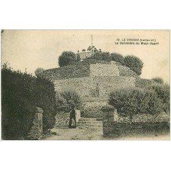 carte postale ancienne 44 LE CROISIC. Belvédère Mont-Esprit 1930