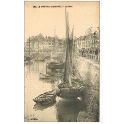 carte postale ancienne 44 LE CROISIC. Le Port 1926