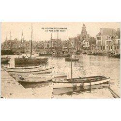 carte postale ancienne 44 LE CROISIC. Le Port et Quais