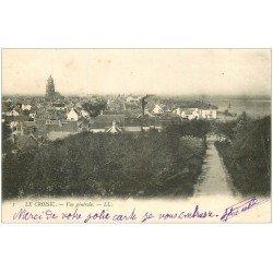 carte postale ancienne 44 LE CROISIC. Vue 1906
