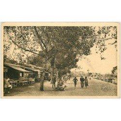 carte postale ancienne 44 LE POULIGUEN. La Promenade. Yvon