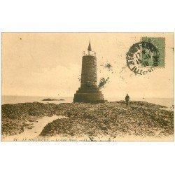 carte postale ancienne 44 LE POULIGUEN. La Tour Rouge 1918