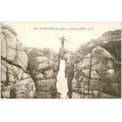carte postale ancienne 44 LE POULIGUEN. Le Pont du Diable