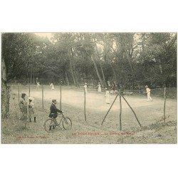 carte postale ancienne 44 LE POULIGUEN. Le Tennis du Bois