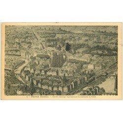 carte postale ancienne 44 NANTES. Centre Ville 1932