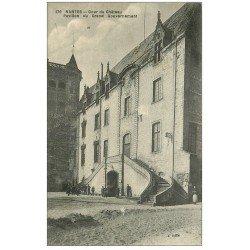 carte postale ancienne 44 NANTES. Château et Pavillon du Grand Gouverneur