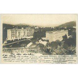 carte postale ancienne 06 NICE. Hôtel de Cimiez. Résidence de la Reine d'Angleterre. Vers 1900