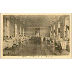 carte postale ancienne 44 NANTES. Hôtel-Dieu Salle des Malades 1943