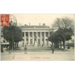 carte postale ancienne 44 NANTES. La Bourse 1909