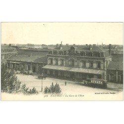 carte postale ancienne 44 NANTES. La Gare de l'Etat