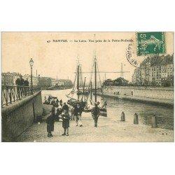carte postale ancienne 44 NANTES. La Petite Hollande 1908