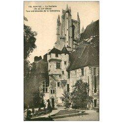 carte postale ancienne 44 NANTES. La Psallette 1935