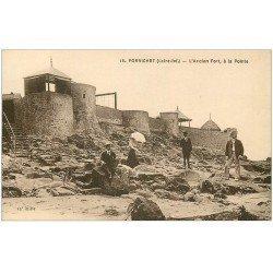 carte postale ancienne 44 PORNICHET. Ancien Fort