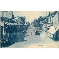 carte postale ancienne 44 PORNICHET. Avenue de Mazy Magasin de Cartes Postales 1922