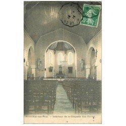 carte postale ancienne 44 PORNICHET. Chapelle des Dunes 1914