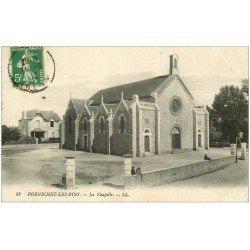 carte postale ancienne 44 PORNICHET. La Chapelle 1913