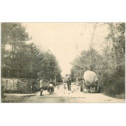 carte postale ancienne 44 PORNICHET. La Grande Avenue 1904