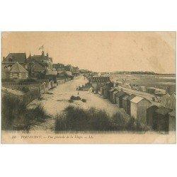 carte postale ancienne 44 PORNICHET. La Plage 1916