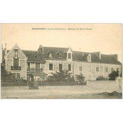 carte postale ancienne 44 PORNICHET. Maison Sacré-Coeur