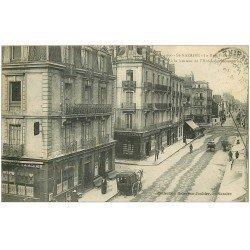 carte postale ancienne 44 SAINT-NAZAIRE. Hôtel des Messageries rue Villa-es-Martin 1916
