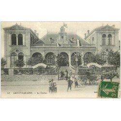 carte postale ancienne 44 SAINT-NAZAIRE. Le Casino 1918
