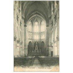 carte postale ancienne 44 SAINT-NAZAIRE. L'Eglise vers 1900