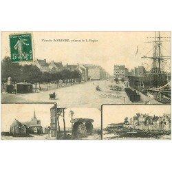 carte postale ancienne 44 SAINT-NAZAIRE. Peinture de Singier