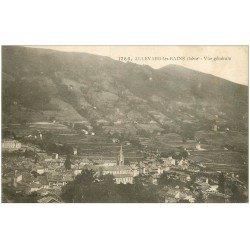 carte postale ancienne 38 ALLEVARD-LES-BAINS. Vue générale 1927