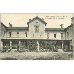 carte postale ancienne 38 BEAUREPAIRE. Hôpital